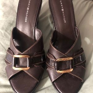 Tommy Hilfiger wedge sandals